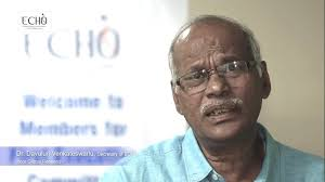 Photographie de M. Davuluri Venkateswarlu