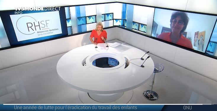 Interview de RHSF sur TV5 Monde